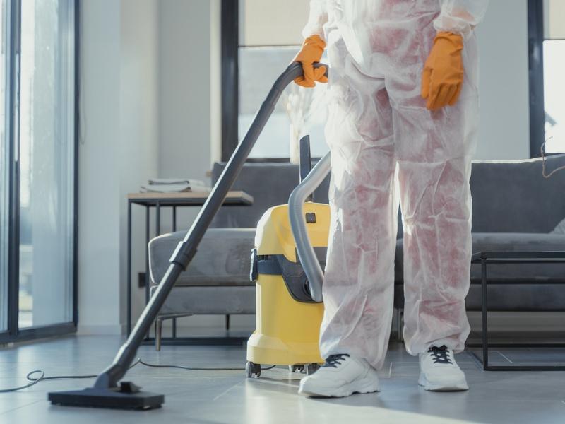 Nettoyage des sols et des murs